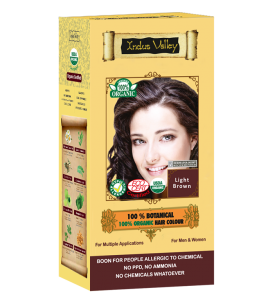 100% Botanical Hair Colour Light Brown